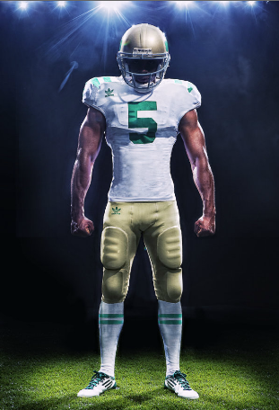 notre dame throwback jerseys