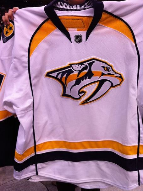 new Nashville Predators road jersey