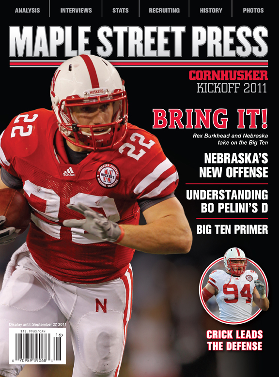 Nebraska football yearbook
