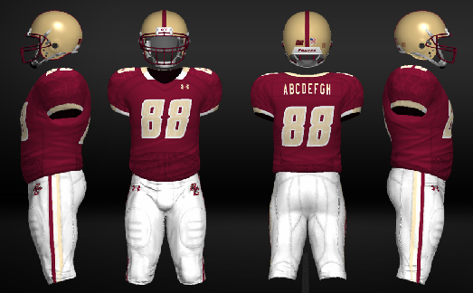 College Football Teams Uniforms