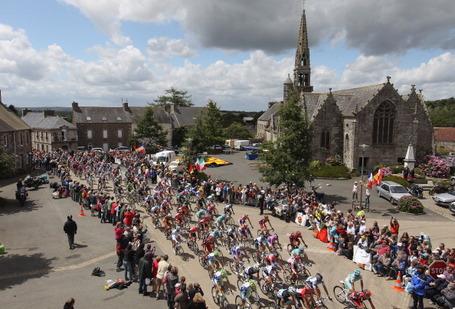 Tour de France 2011, La Chapelle Nueve, stage 5. Photo: Michael Steele/Getty.