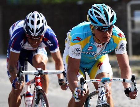 Tour de France, Alexandr Kolobnev, doping. Photo: Bryn Lennon/Getty.