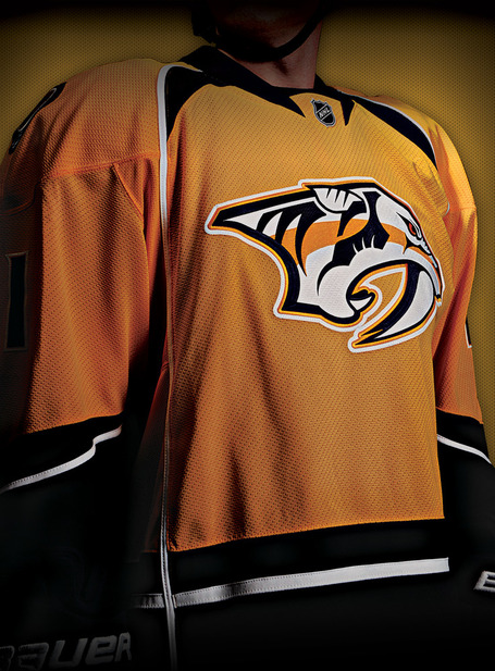 new Nashville Predators home jersey