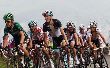 Tour de France 2011, col de l'Aubisque, Andy Schleck. Photo: Bryn Lennon/Getty.