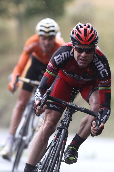 Tour de France, Stage 16, Gap, Cadel Evans, BMC Racing Team, Samual Sánchez, Euskaltel-Euskadi. Photo: Michael Steele/Getty.