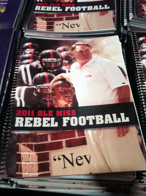Mississippi State Player Hurt >> PHOTOS: Every 2011 SEC Media Days Team Guide Cover (Wow, Mississippi State!) - SB Nation Atlanta