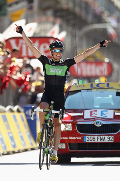 Edvald Boasson Hagen, Team Sky, Tour de France 2011, Stage 17, Pinerolo. Photo: Michael Steele/Getty.