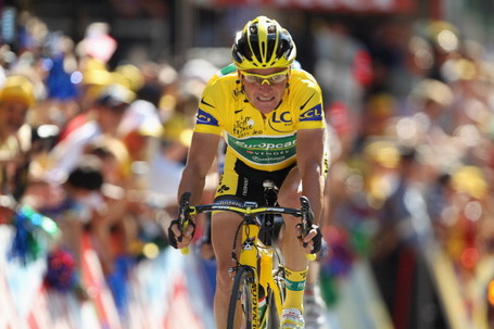 Tour de France, Stage 17, Pinerolo, Yellow Jersey, Thomas Voeckler.