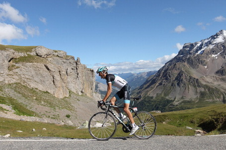 Andy Schleck, Leopard Trek, Tour de France 2011. Photo: Michael Steele/Getty.