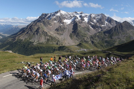 Tour de France, Galibier.