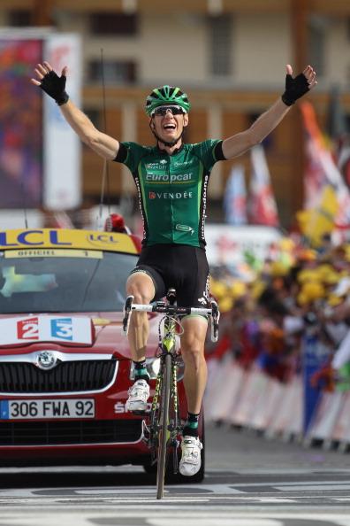 Pierre Rolland, Europcar, Tour de France, Alpe d'Huez.