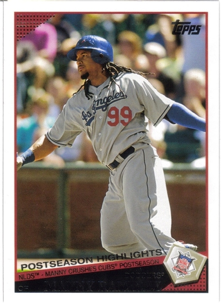 Manny Ramirez in the NLDS