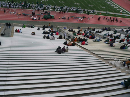 The home crowd when Northern Illinois came to EMU in 2010