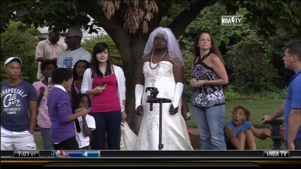 Dennis Rodman Gives Hall Of Fame Ceremony Tickets To Man In Wedding ...
