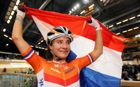 Marianne Vos, track World Championship, Apeldoorn 2011