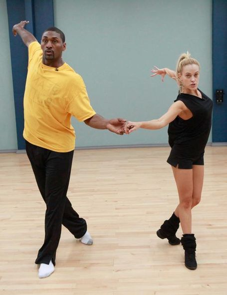 Ron Artest is practicing for Dancing With The Stars. It's going to be amazingly entertaining!