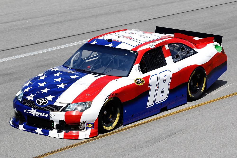 O Say Can You See Kyle Busch S American Flag Nascar Race Car