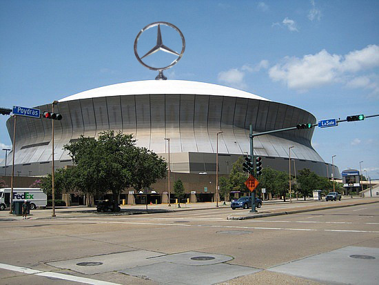 Saints and mercedes benz reach naming rights agreement for for Mercedes benz new orleans