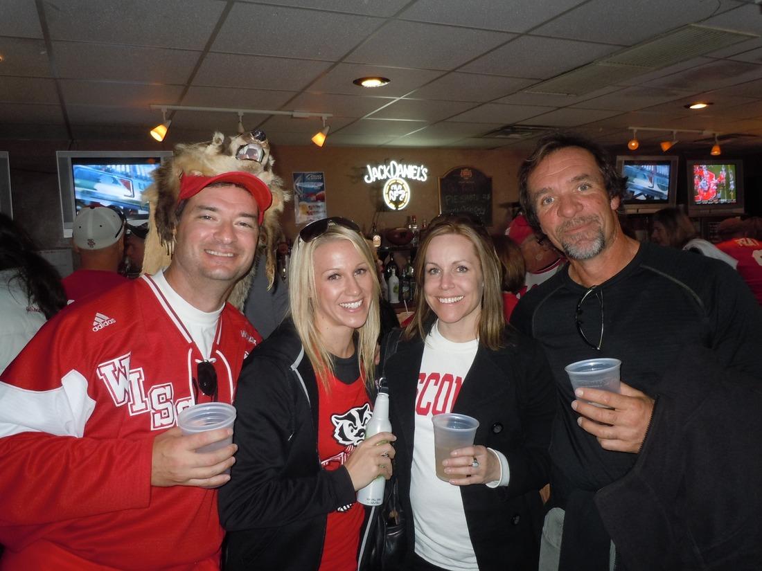 Wisconsin Fan Badger Head