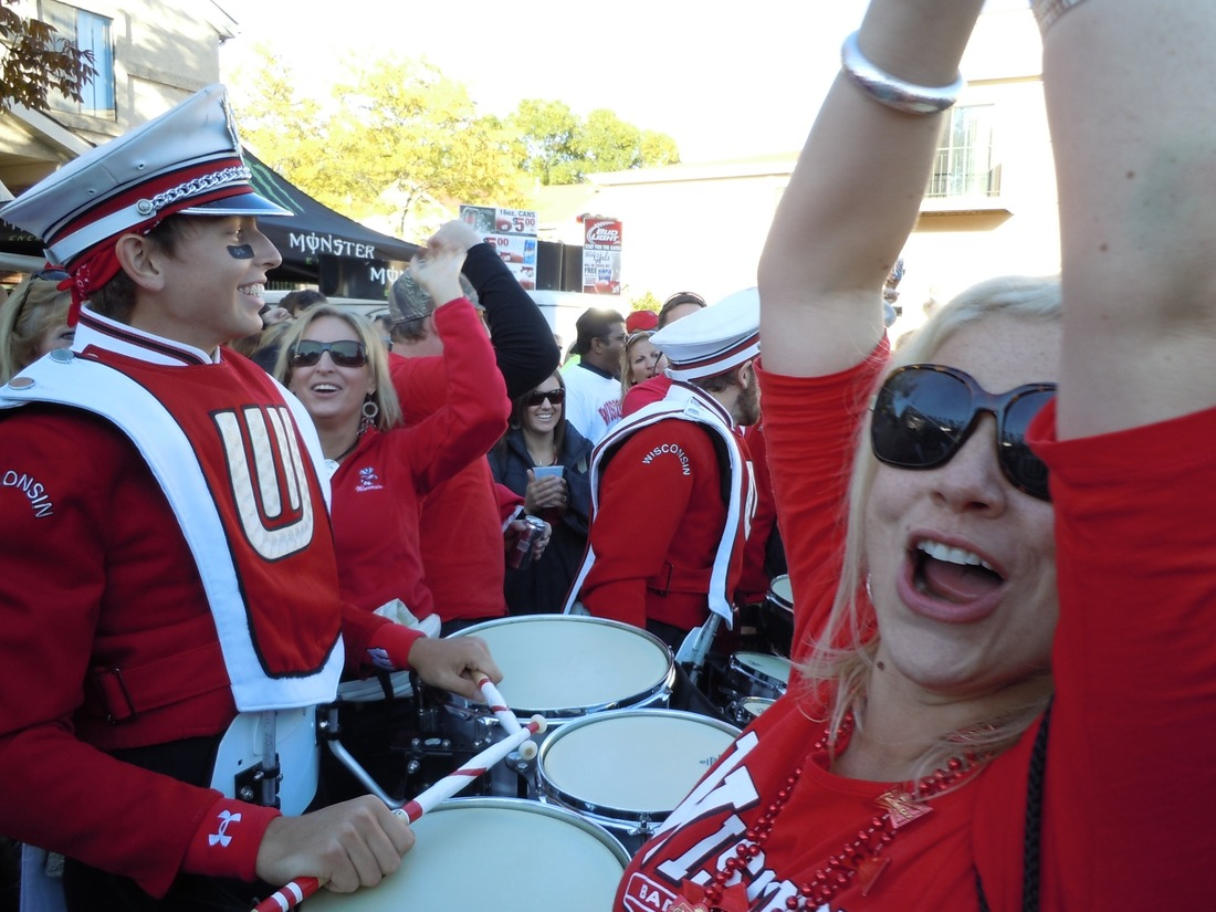 Wisconsin Drum Line Blonde
