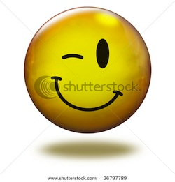 Stock-photo-render-emoticon-d-wink-26797789_medium