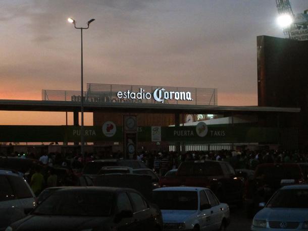 Estadio Corona night