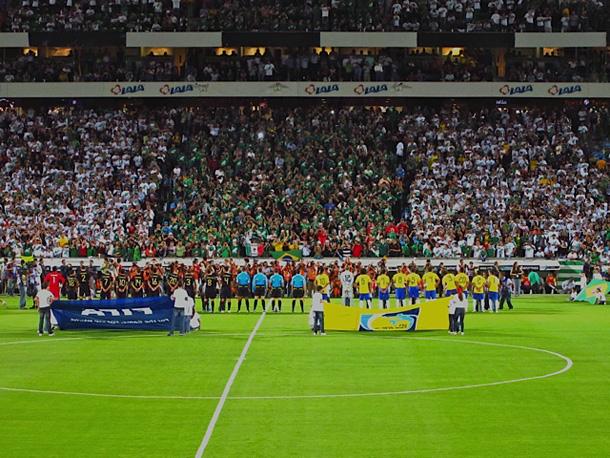 Mexico-Brazil lineups
