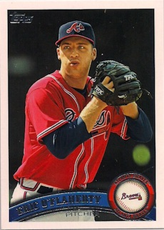 2011 Topps 60 #T60-148 Craig Kimbrel Atlanta Braves Rookie Baseball Card