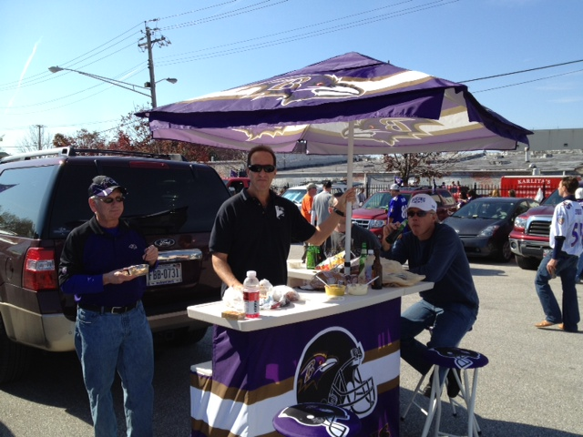 A Perfect Day For Ravens Tailgating Baltimore Beatdown