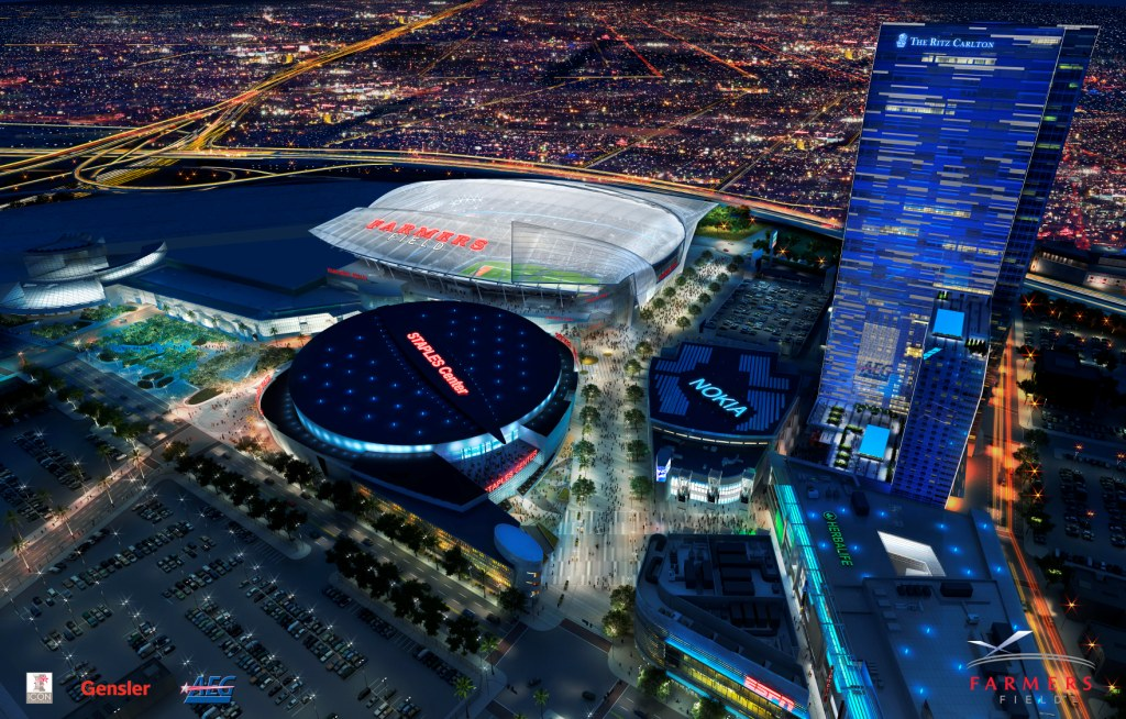 Los Angeles Nfl Stadium Photo Of Farmer S Field With