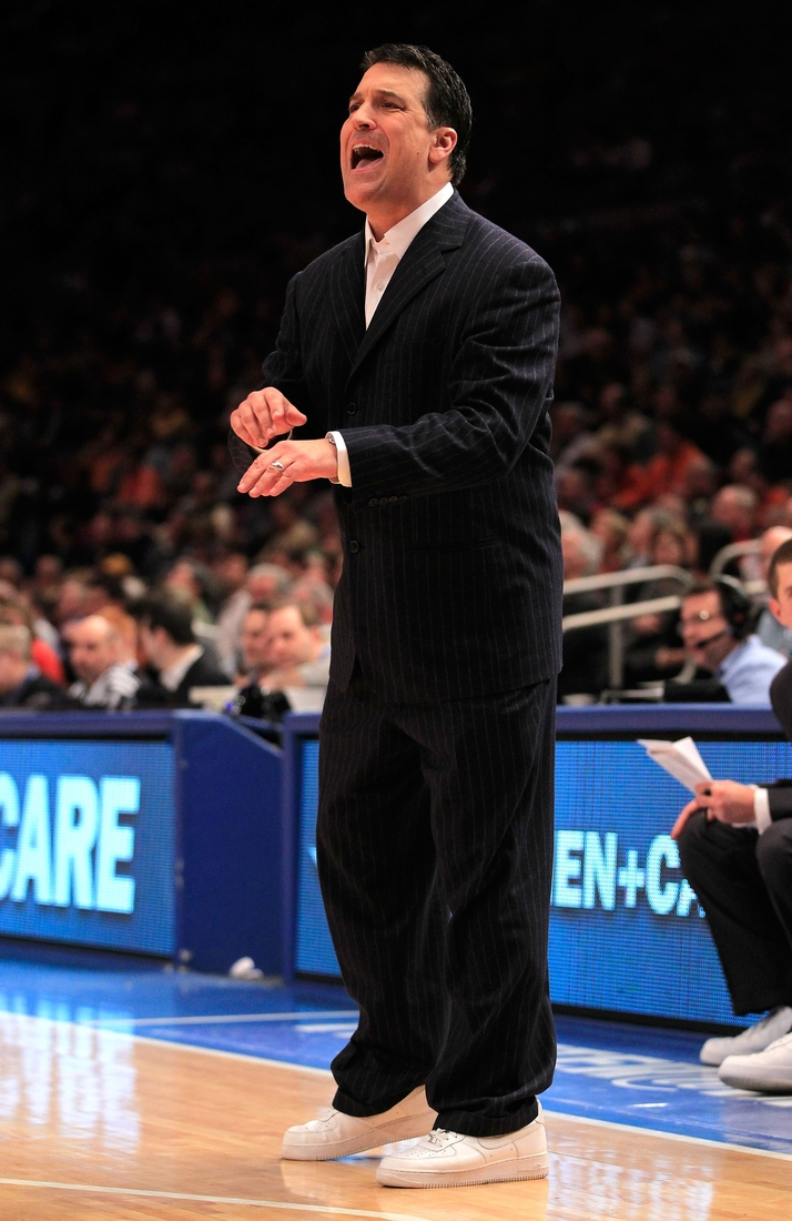 Steve Lavin in Air Force Ones