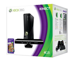 Xbox 360 with Kinect Bundle