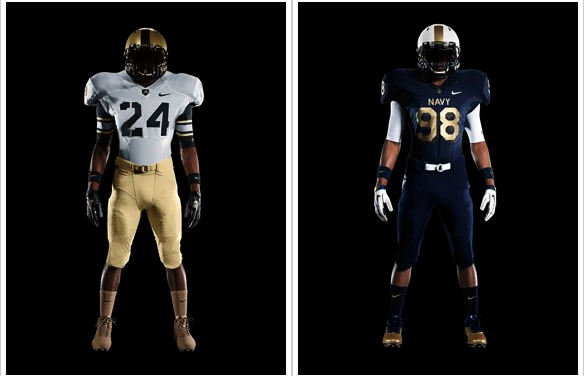 Army Navy Game What Channel >> Army-Navy Game 2011 Uniforms: Nike Pro Combat Jerseys For Both Sides Revealed - SB Nation DC