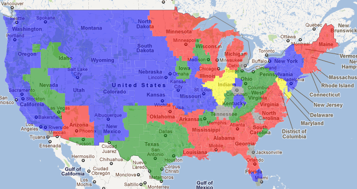 Week 14 Nfl Coverage Maps Gang Green Nation