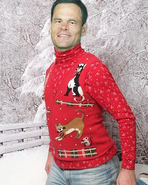 John Cook Christmas Sweater