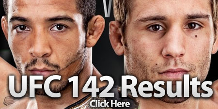 UFC 142 Results