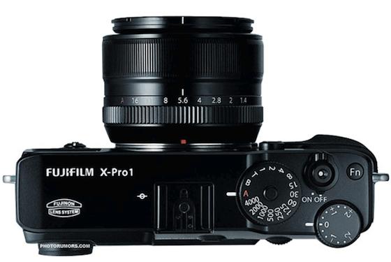 Fujifilm-x-pro1-camera-top