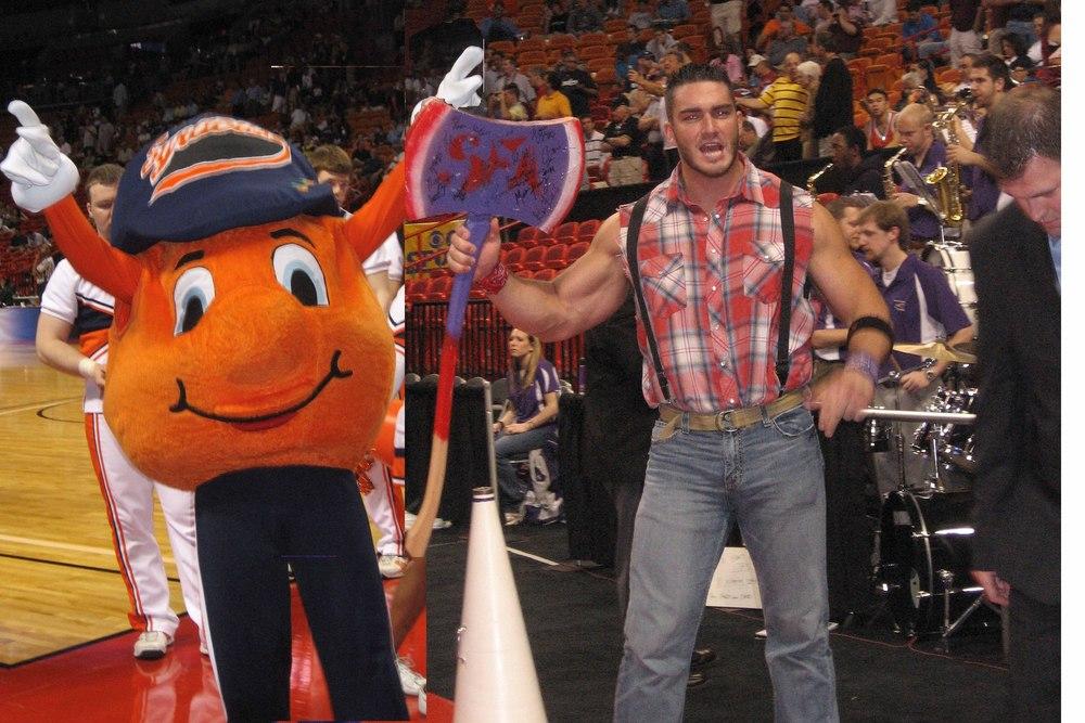 Mascot Wars: Stephen F. Austin vs. Syracuse - Blogger So Dear