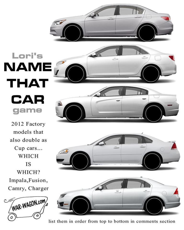 Its a guessing game: Lori\'s Name That Car Game - SBNation.com