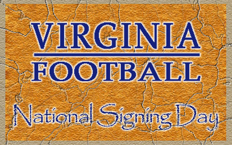 Virginia Football National Signing Day 2012