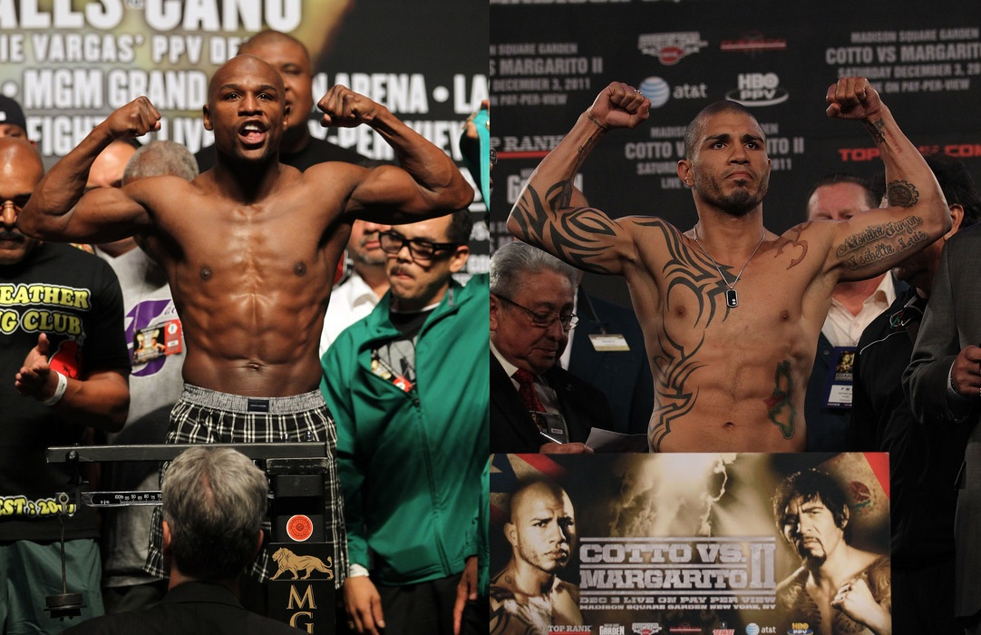 Pacquiao vs Bradley and Mayweather vs Cotto: What's the Better ...