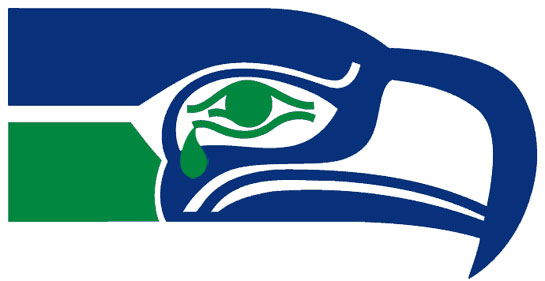 video nfl logo redesigns from 1996 2012 a history of pissed off rh sbnation com seahawks clipart seahawks clip art pictures