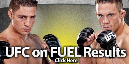 UFC on FUEL TV Results