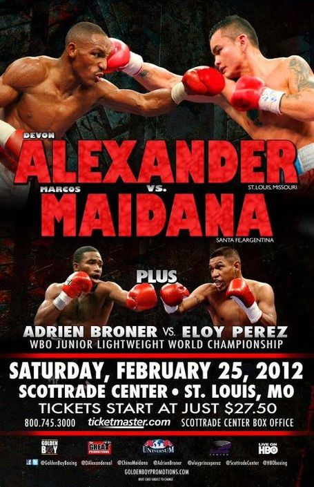 BREAKING NEWS: MAIDANA  VS. ALEXANDER RECAP