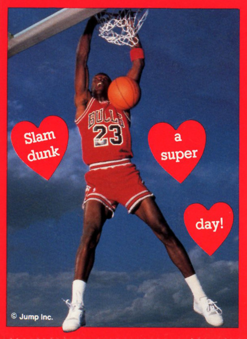 Michael Jordan Would Like To Wish You A Happy Valentines Day – Michael Jordan Birthday Card
