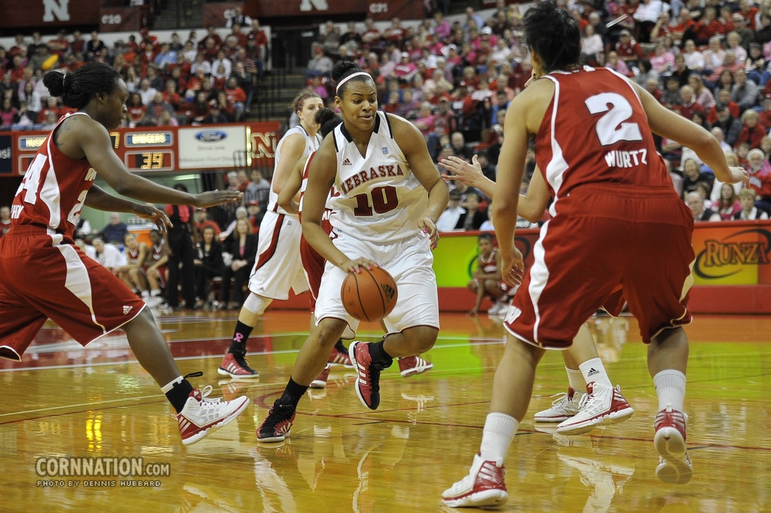 Huskers Meghin Williams