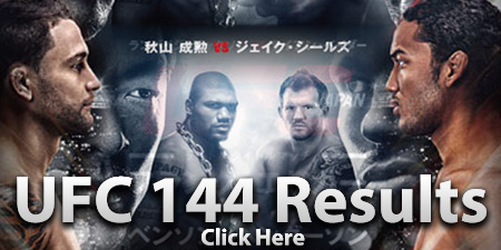 UFC 144 Results