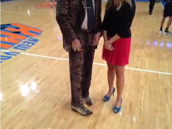 50769764e9f Walt Frazier Has The Eye Of The Tiger