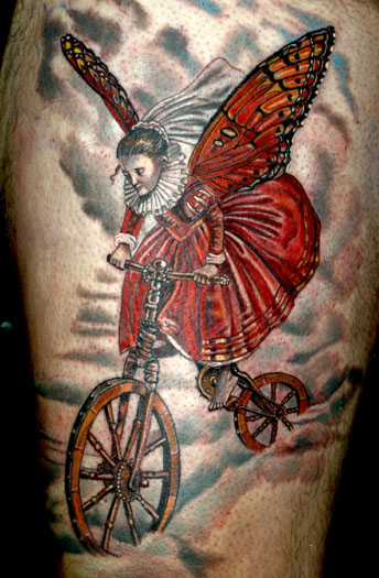 Publikat Bike Art ABT Tattoo