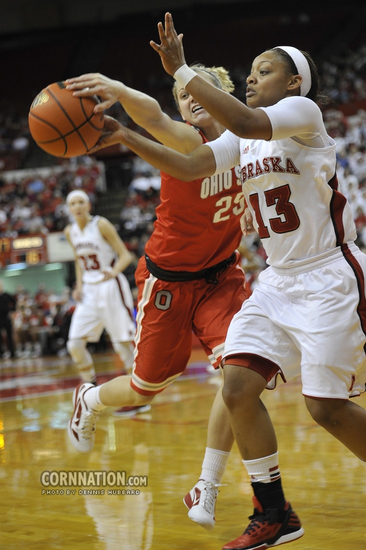 Huskers Brandi Jeffery